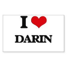I Love Darin Decal