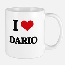 I Love Dario Mugs