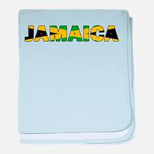 Jamaica 001 baby blanket