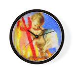 cupid.png Wall Clock