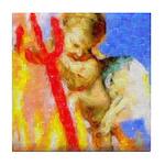 cupid.png Tile Coaster