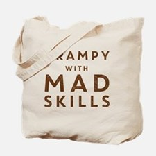 Grampy with Mad Skills Tote Bag