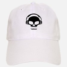 Dj Dubstep Skull Headphones Dead Music Skeleto Baseball Baseball Cap