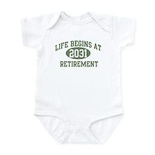 Life begins 2031 Infant Bodysuit