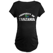 Property Of Tanzania T-Shirt