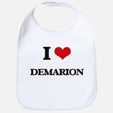 I Love Demarion Bib
