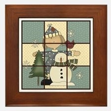 Tic-Tac-Toe 1 Framed Tile