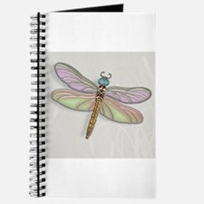 Lavender and Light Green Dragonfly Journal