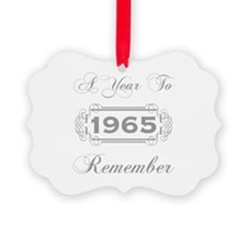 1965 A Year To Remember Ornament