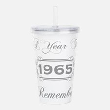 1965 A Year To Remembe Acrylic Double-wall Tumbler