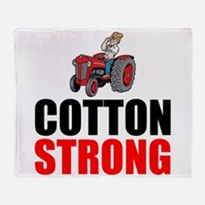 Cotton Strong Throw Blanket