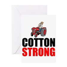 Cotton Strong Greeting Cards