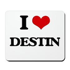 I Love Destin Mousepad