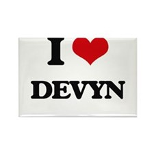 I Love Devyn Magnets