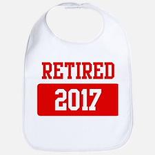 Retired 2017 (red) Bib