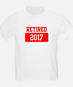 Retired 2017 (red) T-Shirt