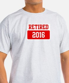 Retired 2016 (red) T-Shirt