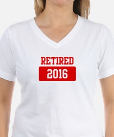 Retired 2016 (red) Shirt