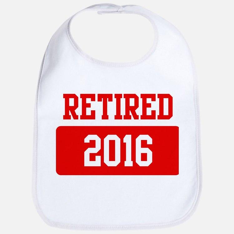Retired 2016 (red) Bib