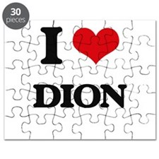 I Love Dion Puzzle