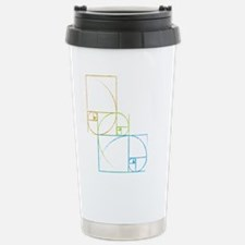 Fibonacci Stainless Steel Travel Mug