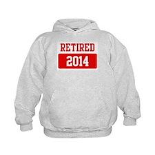 Retired 2014 (red) Hoodie