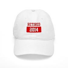 Retired 2014 (red) Baseball Cap
