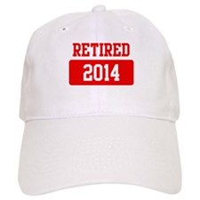 Retired 2014 (red) Cap