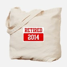 Retired 2014 (red) Tote Bag