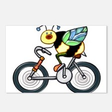 Bee on a Bike Postcards (Package of 8)