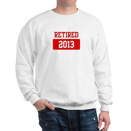 Retired 2013 (red) Sweatshirt