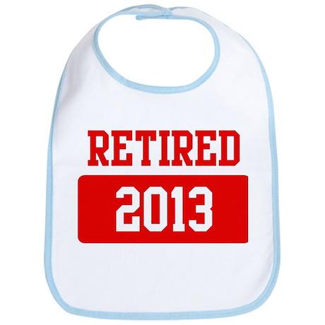 Retired 2013 (red) Bib