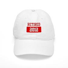 Retired 2012 (red) Baseball Cap
