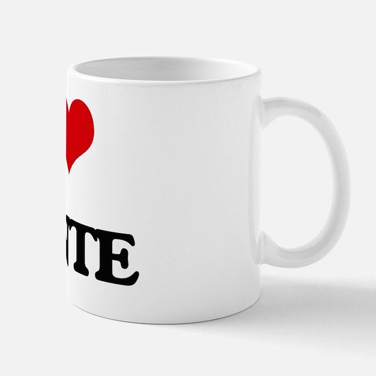 Cute I love donte Mug