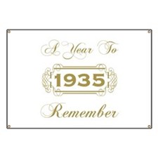 1935 A Year To Remember Banner