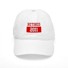 Retired 2011 (red) Baseball Cap