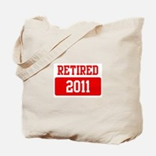 Retired 2011 (red) Tote Bag