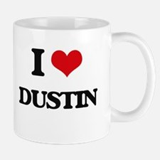 I Love Dustin Mugs