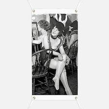 Showgirls Backstage, 1926 Banner