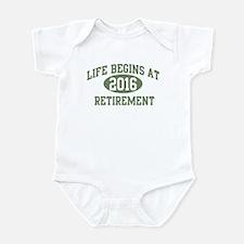 Life begins 2016 Infant Bodysuit