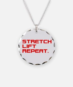 STRETCH, LIFT, REPEAT. Necklace