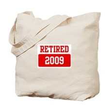 Retired 2009 (red) Tote Bag