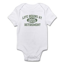 Life begins 2015 Infant Bodysuit