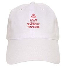 Keep calm we live in Sevierville Tennessee Baseball Cap