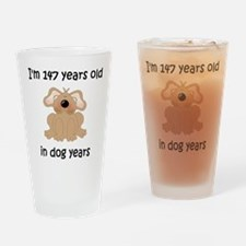 21 dog years 5 Drinking Glass