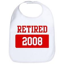 Retired 2008 (red) Bib