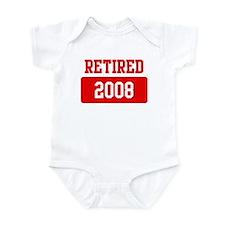 Retired 2008 (red) Infant Bodysuit