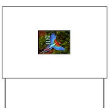 Parrot Teacher Yard Sign