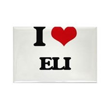 I Love Eli Magnets