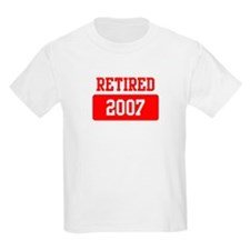 Retired 2007 (red) T-Shirt